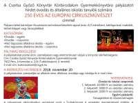 A CsGyK Körbirodalom Gyermekkönyvtára rajzpályázatot hirdet 250 ÉVES AZ EURÓPAI CIRKUSZMŰVÉSZET címmel.