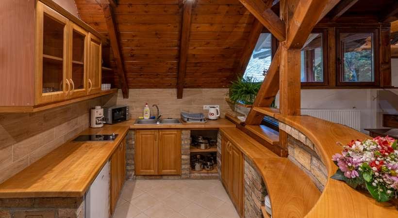 Az Annafürdői Vendégház konyhája