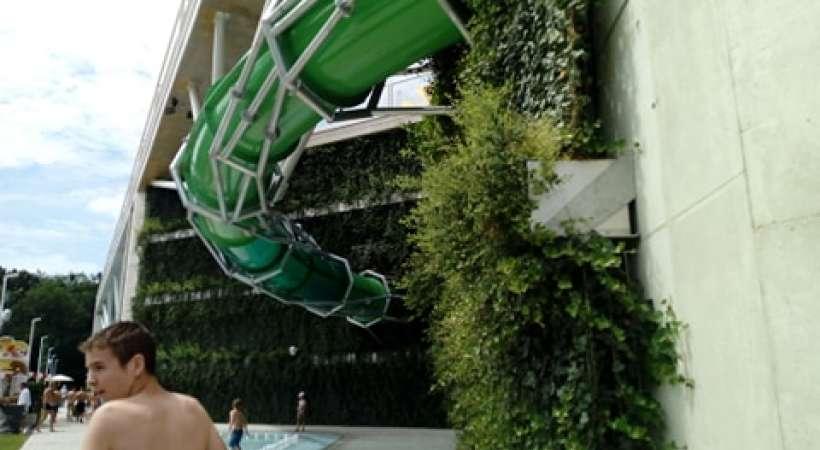 Debrecen új strandja, az Aquaticum - csúszda